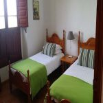 Twin room accommodation at our fantastic spanish farm house