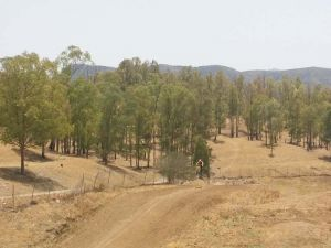 Enjoy the fantastic scenery when you hit the motocross track