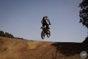 Off-road Motorcycle Trail Riding in Spain