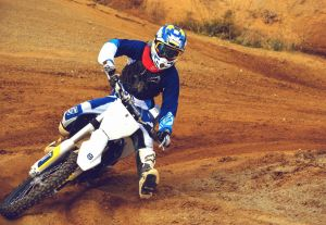 One of our motocross riders engiying his holiday
