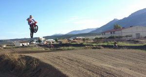 Spectactular riding from one of our motocross holidaymakers