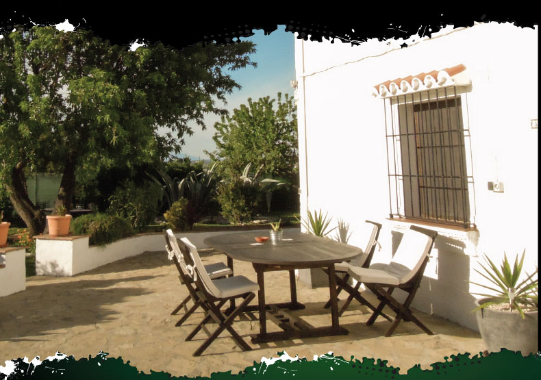 Accommodation for our off-road motorcycle tours in spain