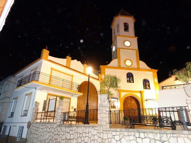 Church at night - Our local church