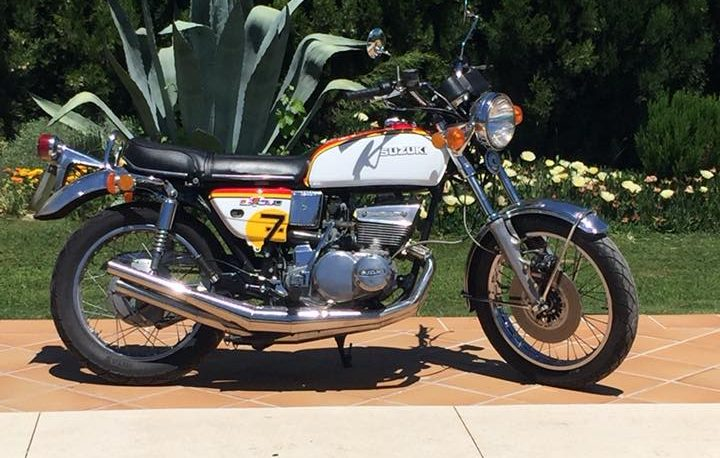 Classic motorcycle tours in Malaga, Spain