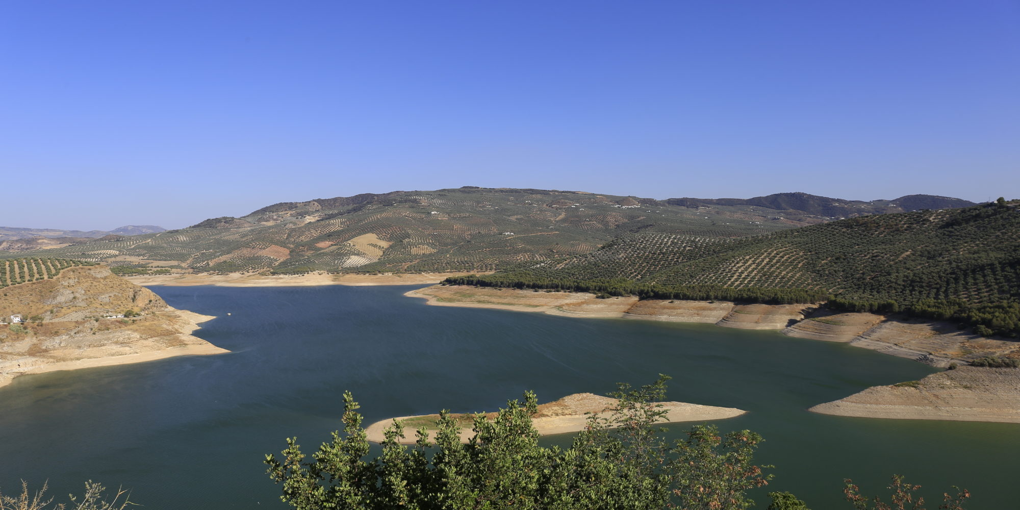 Inzajar is en-route trail tour locations that we visit during our adventure off-road motorcycle tour in Malaga, Spain.