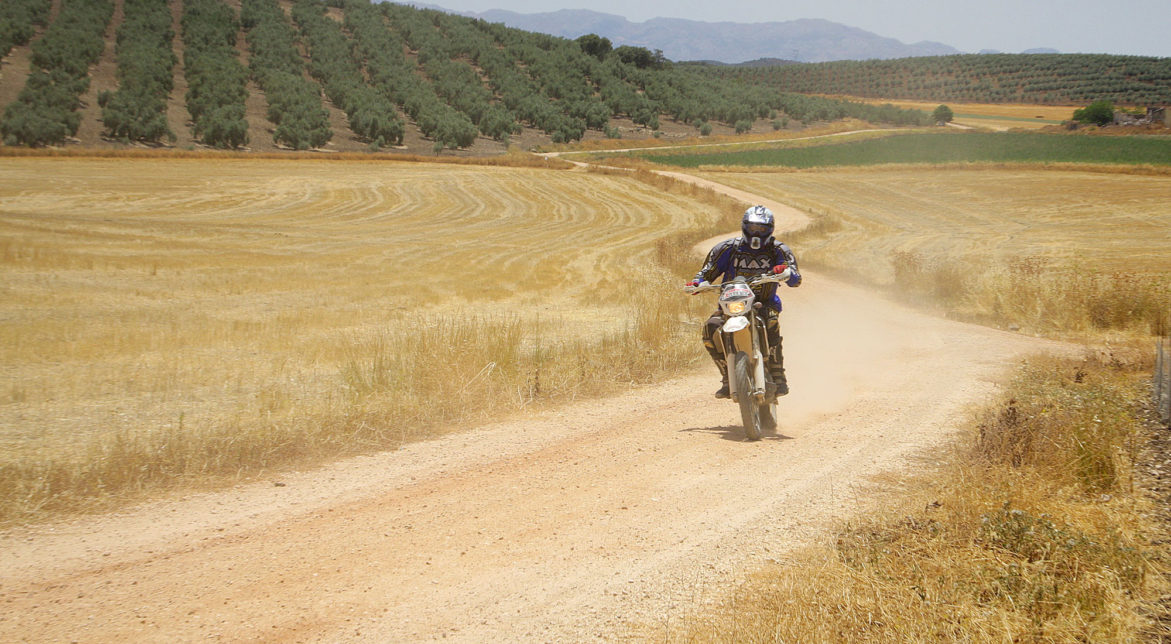 trail riding motocross holidays in Spain