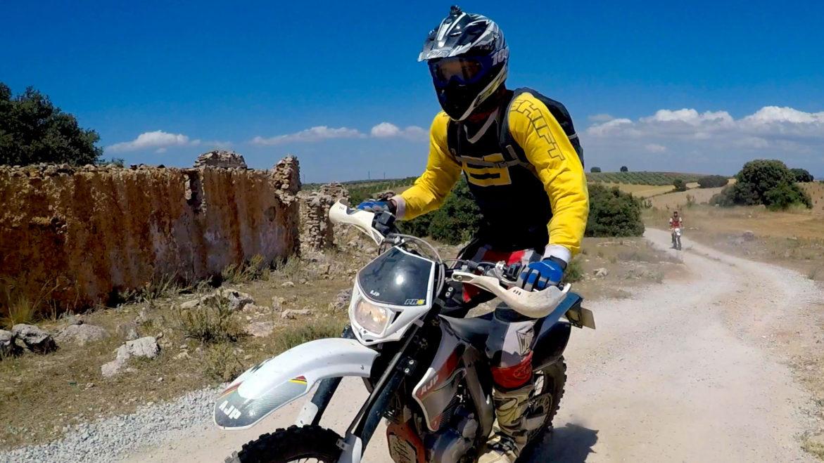 off road motorbike Spain