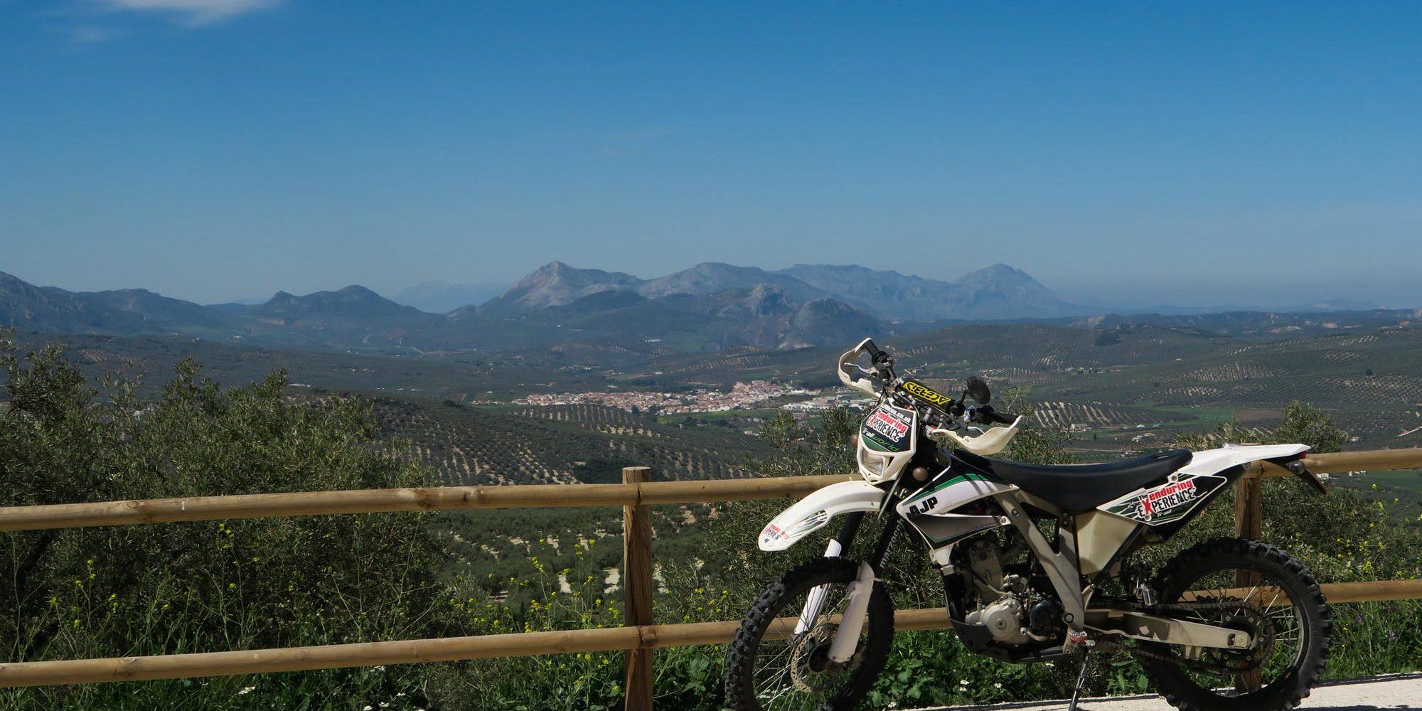 Enduro Motorcycle tours in Periana, near Malaga