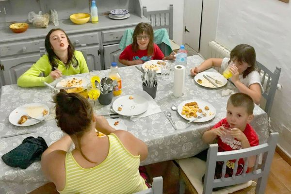 self catering biker accommodation for families