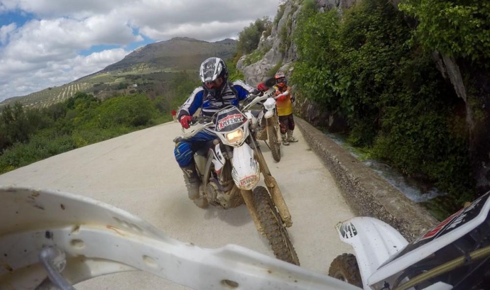Off-road motorcycle holidays in Villanueva Del Trabuco