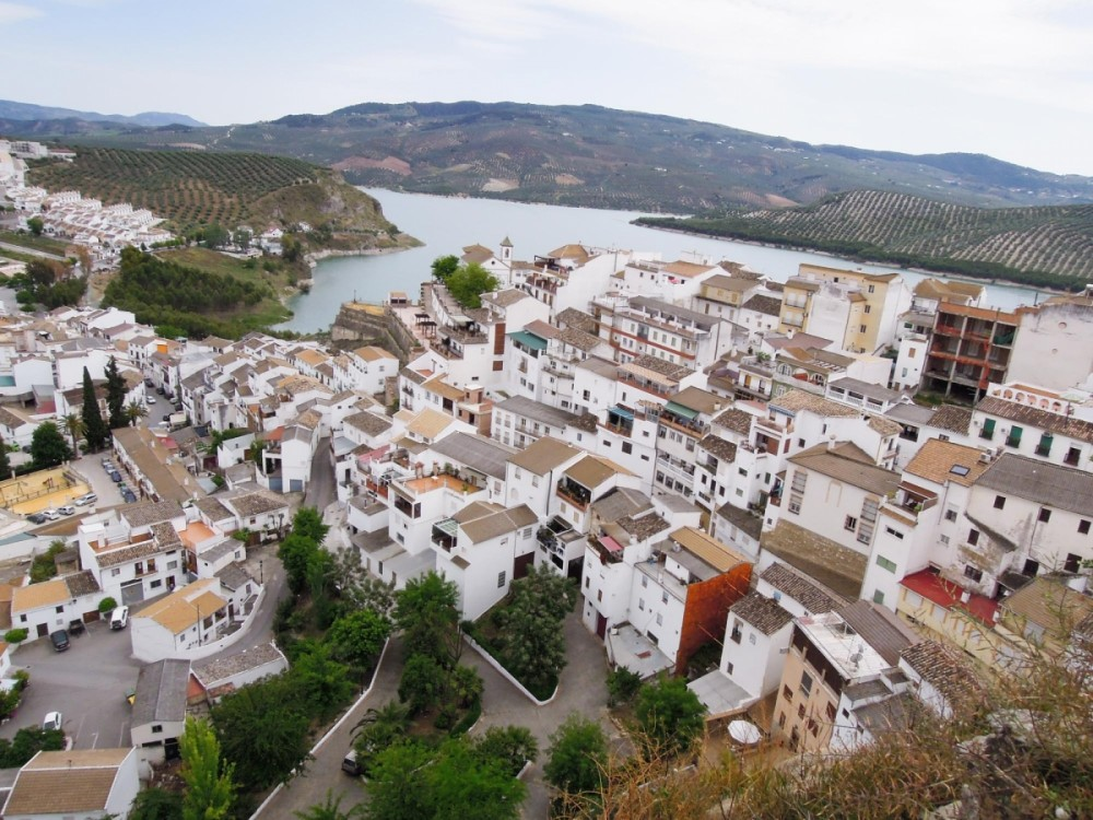 Inzajar is one of the lunch stops during our adventure off-road motorcycle tour in Spain.